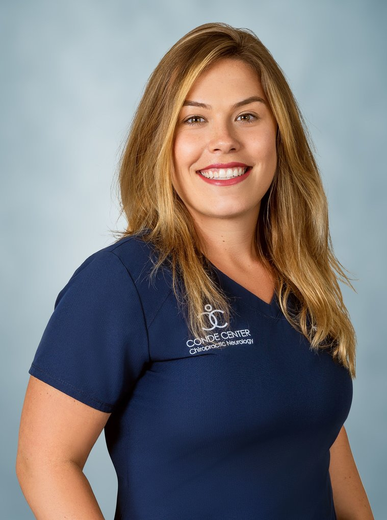 Nicole, Chiropractic Assistant at the Conde Center